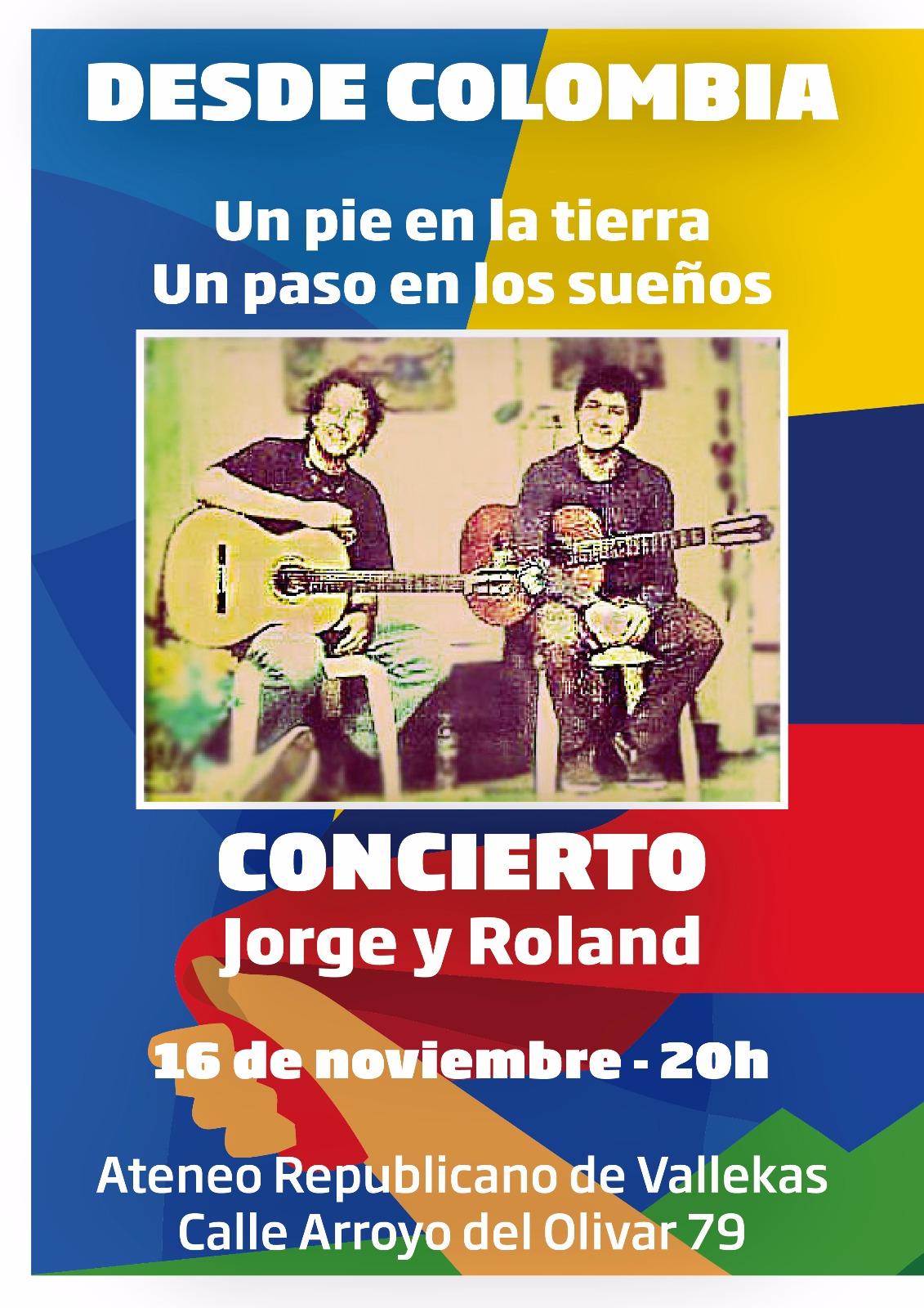 Roland y Jorge