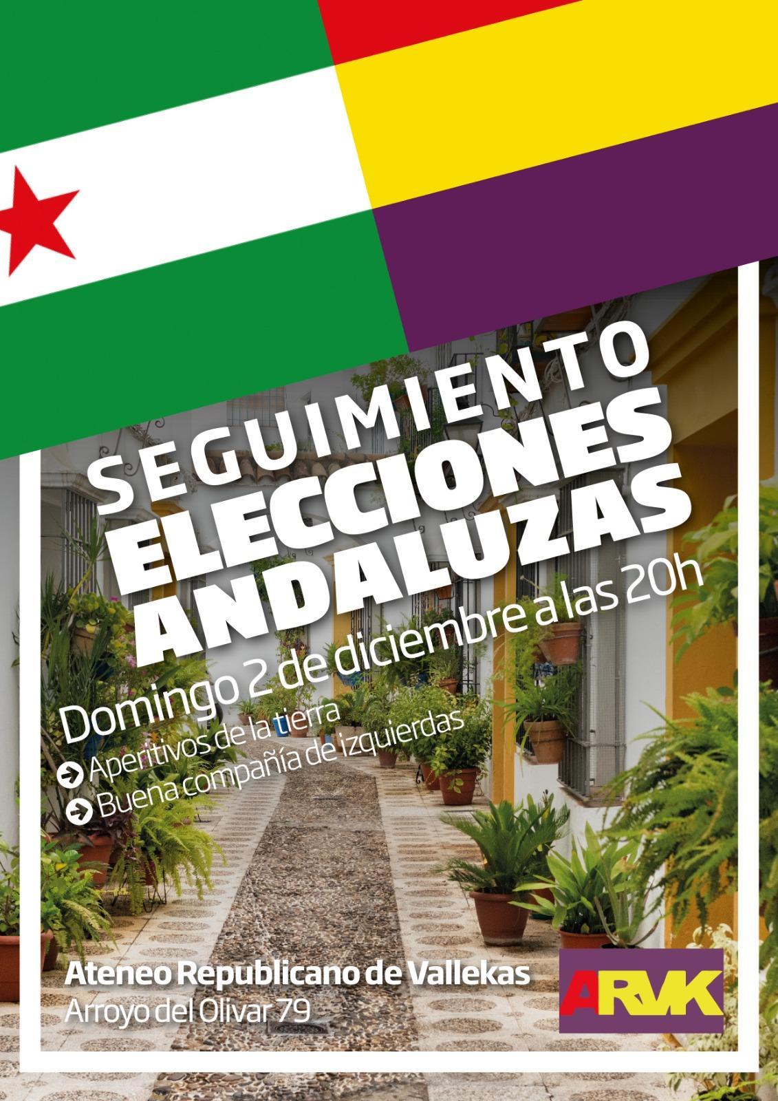 seguimiento elecciones andaluzas