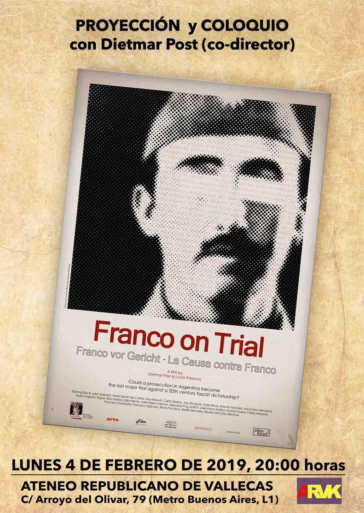 Franco on trial en el Ateneo