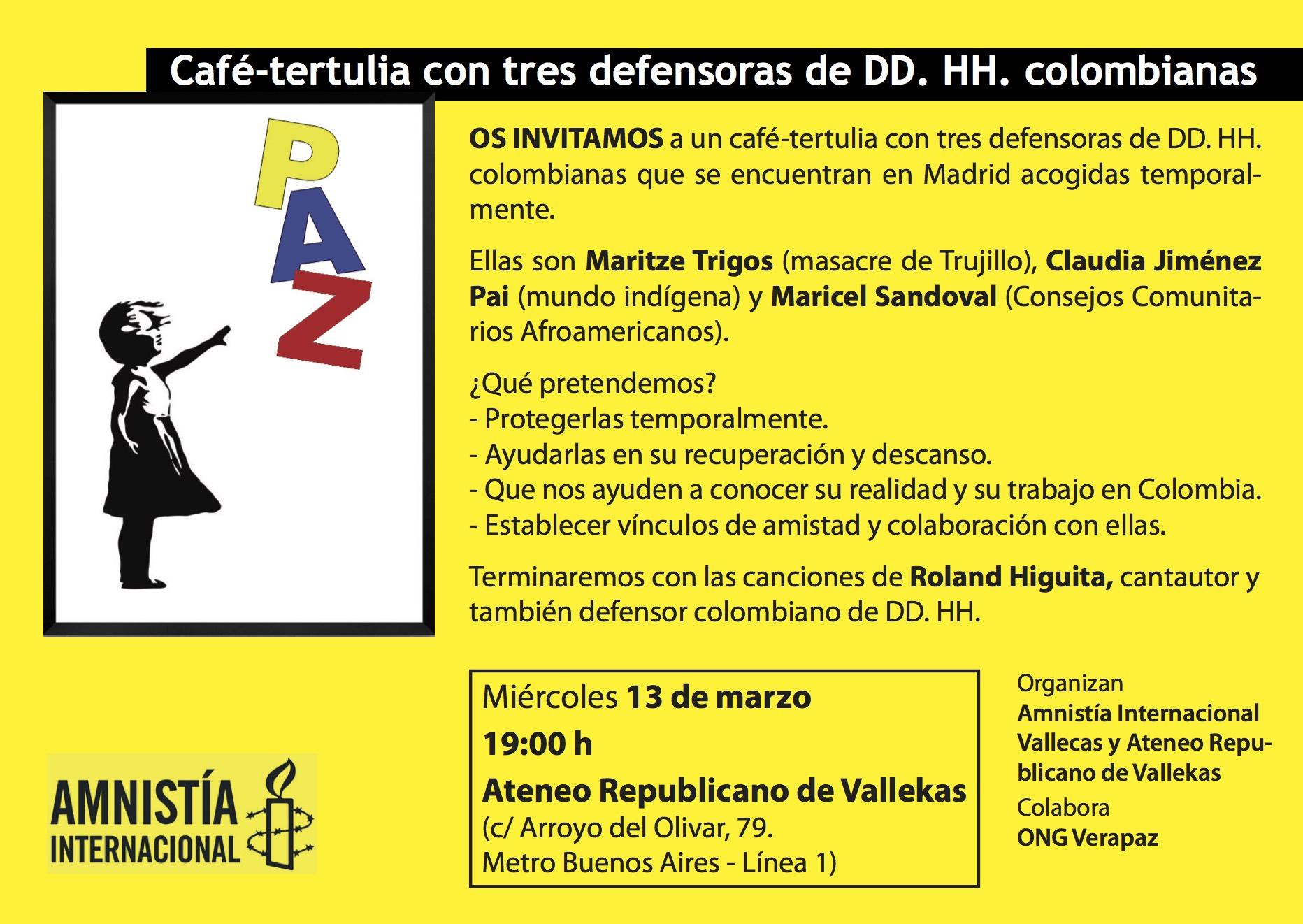 20190313 - acto refugiadas colombianas
